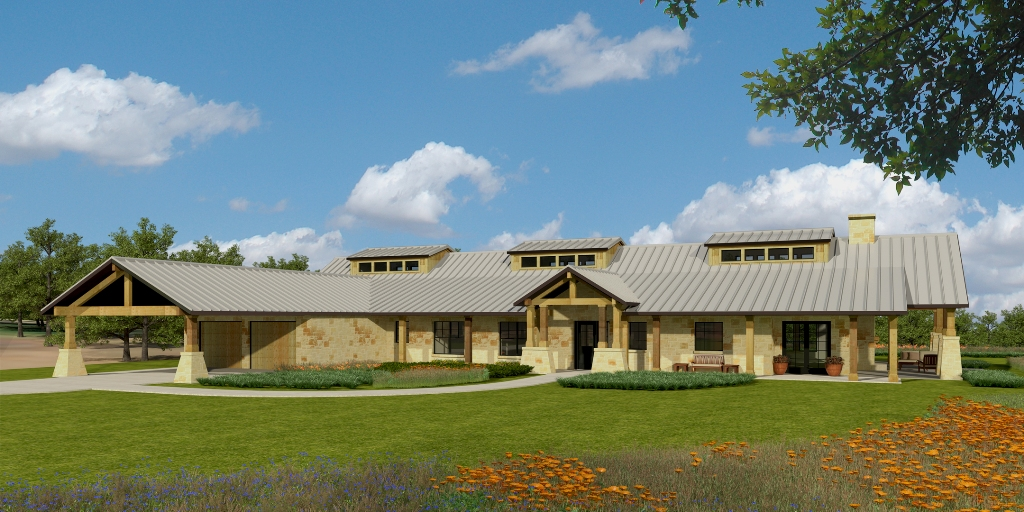 """Hill-Country ADA Residence for Wounded Hero"